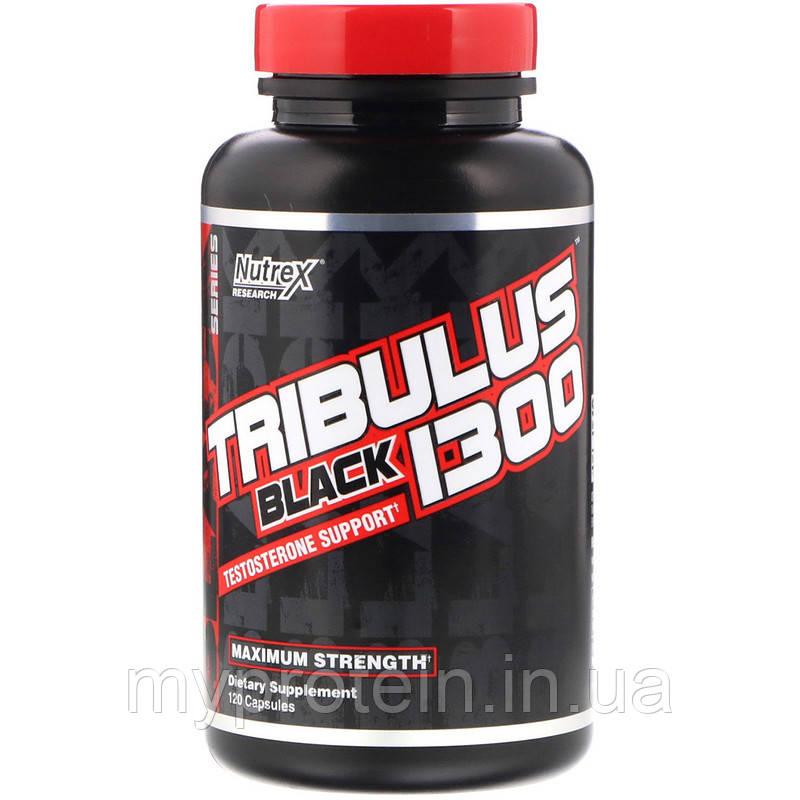 Nutrex Повышение тестостерона Tribulus Black 1300 120 caps