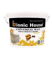 """Универсальный воск для древесины """"Bionic House"""" 3 л"""