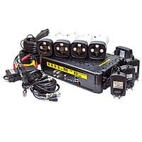 KIT-3MP-4CC Полный! комплект видеонаблюдения видеокамеры 3 Mp + видеорегистратор