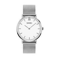 Skmei 1182  cruizei серебристые классические часы, фото 1