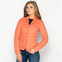 Куртка женская Geox W5225D BRIGHT CORAL 42 Кораловы , фото 1