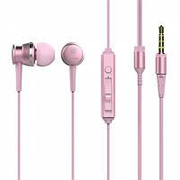 Наушники Baseus Lark Series Wired Earphones Pink