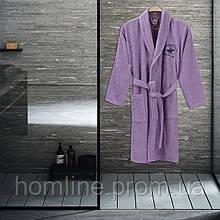 Халат Beverly Hills Polo Club XS/S lilak ліловий 355BHP1708