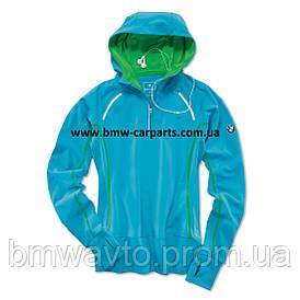 Женская куртка BMW Athletics Performance Long-Sleeved Shirt, ladies, Ocean Blue