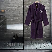 Халат Beverly Hills Polo Club XS/S пурпурний бузковий 355BHP1710