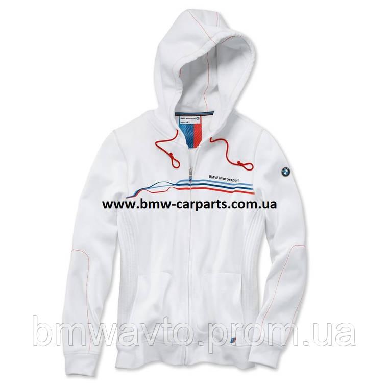 Женская куртка BMW Motorsport Sweat Jacket, ladies, White, фото 2