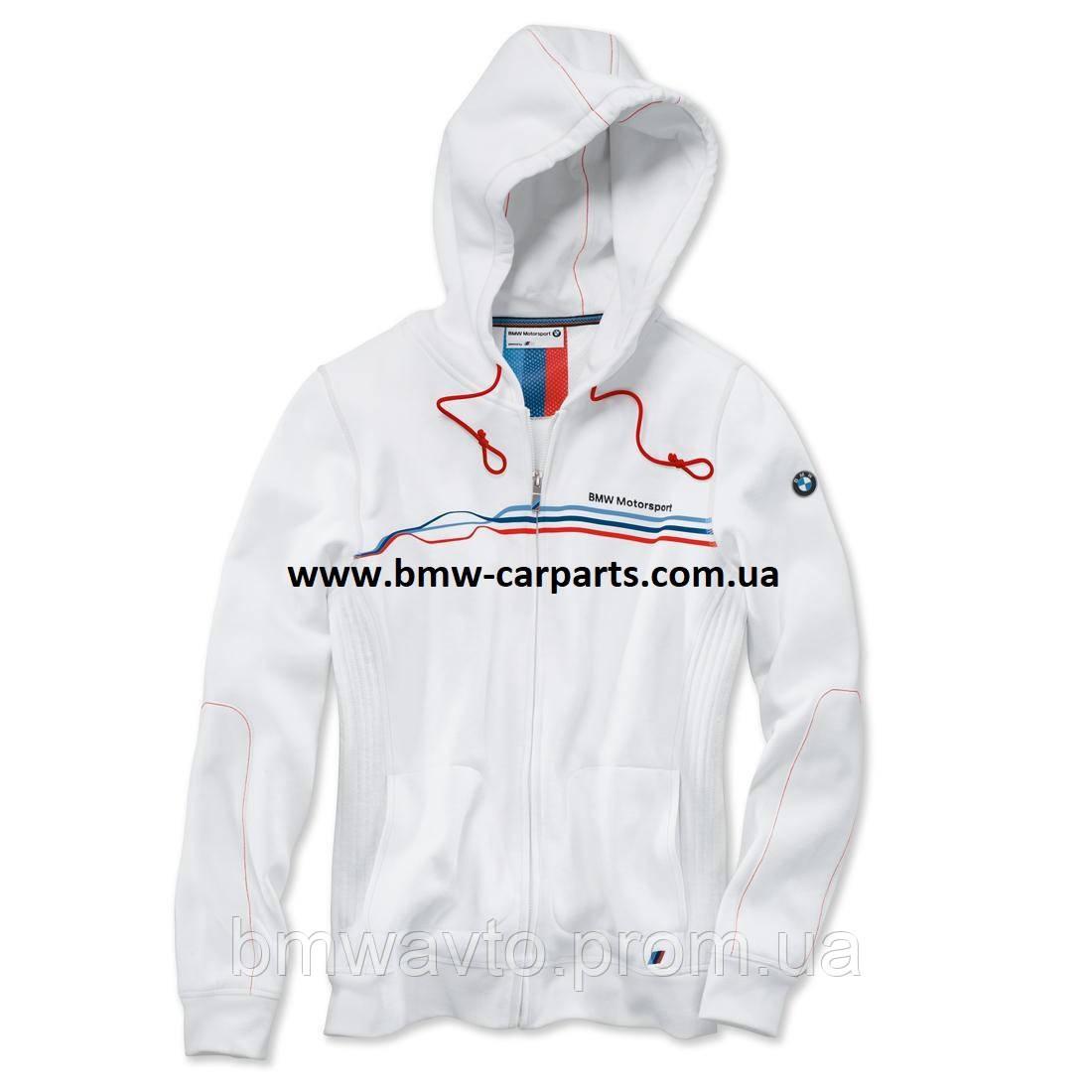 Женская куртка BMW Motorsport Sweat Jacket, ladies, White