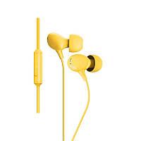 Наушники с микрофоном Zolcil Z2 Желтые