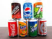 Мини-динамик Coca Cola/Pepci/Sprite/Fanta, фото 1