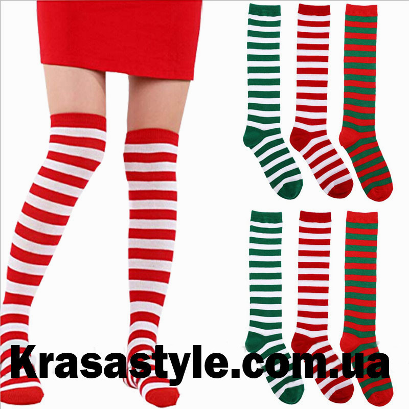 4031c333ed4d Красно-белые чулки: продажа, цена в Днепре. колготы и чулки женские от