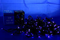 Гирлянда Xmas LED 100 B-7  Синяя