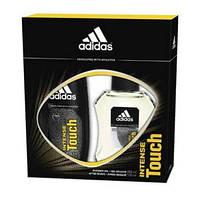 Набір чоловічий парфумерний Adidas Intense Touch (туалетна вода +дезодорант) 890cdd25564ed