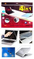 """Защитная пленка для ноутбука 4в1 15,6"""", фото 1"""
