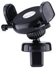 Держатель автомобильный для смартфонов Remax Holder with Automatic Lock black