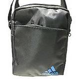 Текстильні барсетки S Adidas (чорний)14*19см, фото 6