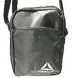 Текстильні барсетки S Adidas (чорний)14*19см, фото 7