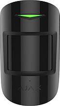 Беспроводной датчик движения и разбития Ajax CombiProtect, Jeweller, 3V CR123A, черный
