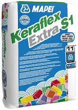 Клей для камня и мозаики серый  25 кг,Keraflex Extra S1/GR Mapei