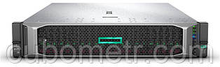 Сервер HPE DL385 Gen10 7251 2.1GHz/8-core/1P 16GB 2x300GB 12G SAS 10k 8SFF P408i-a/2GB DVD-RW Rck