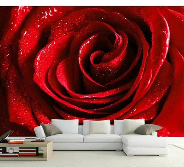 3D Шпалери з Трояндами