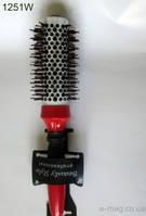 Расческа брашинг c магнитом 1251 W (25мм)ЭлиТа