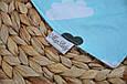 Слюнявчик-треугольник, облака , фото 2