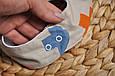 Слюнявчик-треугольник, плюсики , фото 2