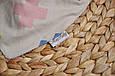 Слюнявчик-треугольник, плюсики , фото 3