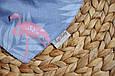 Слюнявчик-треугольник, фламинго , фото 2