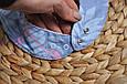 Слюнявчик-треугольник, фламинго , фото 3