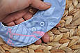Слюнявчик-треугольник, фламинго , фото 6