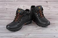 Мужские кожаные ботинки Б-9 из натуральной кожи 41