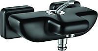 Смеситель для ванны черный Novita M 1087