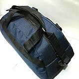 Брендовые спортивные сумки Nike (хаки)26*55см, фото 3