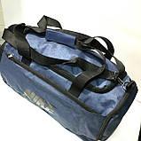Брендові спортивні сумки Nike (сірий)28*50см, фото 4