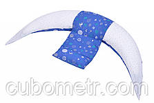 Подушка для беременных и для кормления Nuvita 10 в 1 DreamWizard Синяя NV7100Blue, фото 3