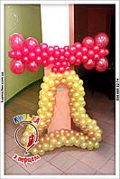 Колокольчик из воздушных шариков Полтава.