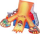 Трековый набор Хот Вилс огненный человечек Hot Wheels Track Builder Fan Man, фото 6