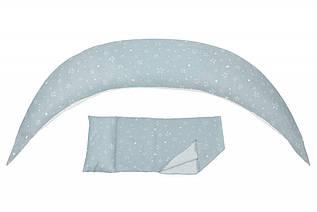 Подушка для беременных и для кормления Nuvita 10 в 1 DreamWizard Серая NV7100Gray