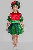 Детский маскарадный костюм для девочки Арбуз, фото 1