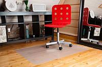 """Защитный коврик под кресло с антискользящим покрытием """"Шагрень"""" 2,0мм - 1000*1500, фото 1"""