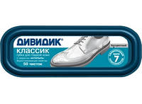 Губка для обуви Классик Дивидик (бесцветный)