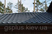Фінська металочерепиця Ruukki Adamante Pural Matt (Ruukki 50), фото 3