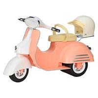 Транспорт для кукол Our Generation Скутер бежевый BD37361Z