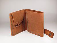 Гаманець кошелек «Mitty», кожаный кошелек натуральна шкіра, ручна робота, фото 1