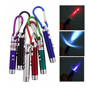 Брелок лазер 3 в 1 1008-L  (БЛОК 48 шт.)