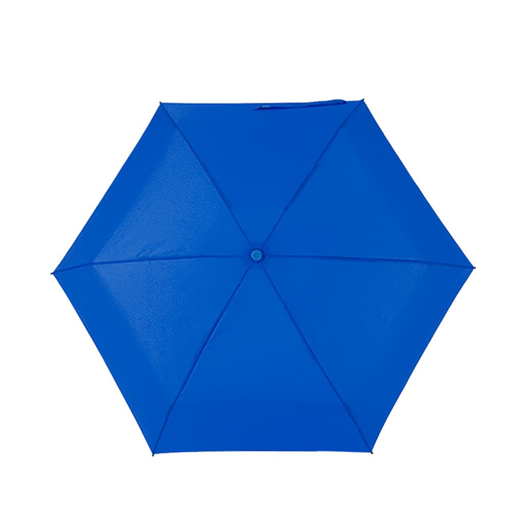 Мини зонтик в футляре СИНИЙ