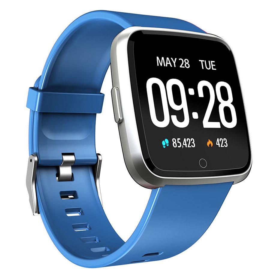Умные смарт часы  Smart Watch Y7 Синие