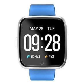 Умные смарт часы  Smart Watch Y7 Синие, фото 2