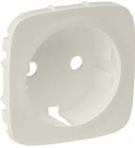 Valena IN'MATIC/ALLURE Legrand лицевая панель силовой розетки Schuko cлоновая кость